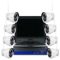 Buy cheap 10 Inches Screen NVR HD IP Camera Kit Wireless 8CH 1080P Real Time from wholesalers