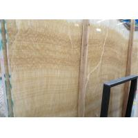 Buy cheap Yellow Onyx Polished Natural Stone Tile For Exterior Walls Honey Onyx Marble Type product