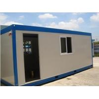 Buy cheap flexible prefabricated container house for camp office workshop guard from wholesalers