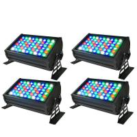 Buy cheap High Quality CE RoHs Listed 54x3W RGBW DMX LED Wall Washer Light Outdoor from wholesalers