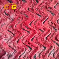 Buy cheap Decorative Polyester Faux Fur Fabric For Car Seat Cover / Shoes 150CM Width product