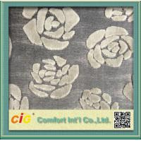 Buy cheap Modern Chenille Sofa Fabric / chenille jacquard  fabric For Furniture product