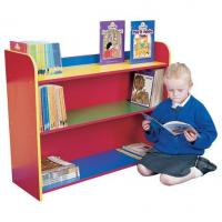 Buy cheap Three Shelf  Wooden Cube Bookcase For Kids / Toddler  , Childrens Book Shelves DX-128 from wholesalers