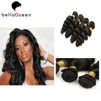Buy cheap Real Tangle Free Mongolian Loose Curly Hair Extensions Unprocessed Virgin from wholesalers