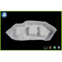 Buy cheap White Plastic ESD Trays PVC With Embossing Pringting For Medication product