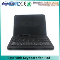 Buy cheap 8 Pin Connect New Design Ipad Keyboard Leather Case Customization from wholesalers