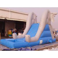Buy cheap Commercial Inflatable Water Slide Pool For Kids Amusement Games from wholesalers