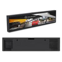 Buy cheap Ultra Wide Stretched Bar Lcd Monitor , Lcd Advertising Screen 0.102x0.285mm Pixel Pitch product