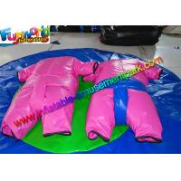 Buy cheap Commercial Pink Adult Inflatable Sumo Wrestling Suits For Rent , Custom from wholesalers