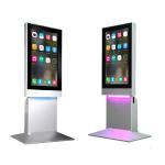 Buy cheap Standalone 43'' Super HD Human Sensor Advertising Touch Digital Kiosk Mall Advertising Kiosk from wholesalers
