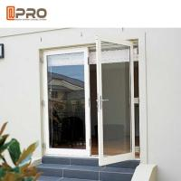 Buy cheap Interior Aluminium Hinged Doors With Double Low E Glass For Residential House price door glass hinge aluminum hings glas from wholesalers