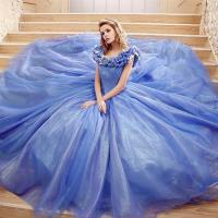 Buy cheap Princess Dress Wholesale Custom Made Princess Cinderella Wedding Dress Cosplay For Wedding Party from wholesalers