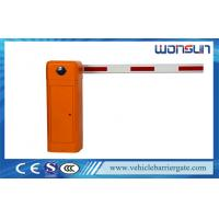 Buy cheap 6 second Car Parking Barrier Gate  for Hospital / Building / Government from wholesalers