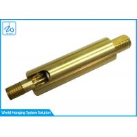 Buy cheap SGS Brass Universal Joint Coupling / Lamp Swivel Parts For Lighting from wholesalers