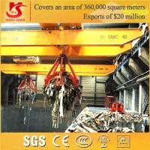 Buy cheap QZ model workshop grab bucket overhead crane from wholesalers