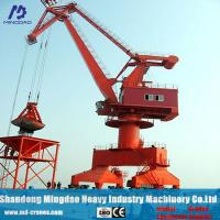 Buy cheap 16 ton 20 ton 30 ton Mobile Portal Gantry Crane with Best Service and Low Price from wholesalers
