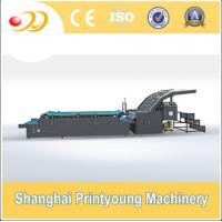 Buy cheap Semi Automatic Flute Laminating Machine For 350gsm Paper Cardboard Corrugated Box from wholesalers