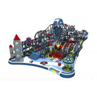 Buy cheap Naughty Castle Indoor Playground Equipment Commercial Kai Qi Playground With Large Slides from wholesalers