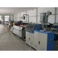 Buy cheap PVC Conical Plastic Extrusion Machine Process Pipe / Sheet / Pellet from wholesalers