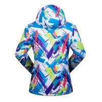 Buy cheap 100% nylon2018 new Fashion Printing Bright Color Ladies Jacket Winter Ski  Workout Jackets Ski Jacket (size:s-xxl) from wholesalers