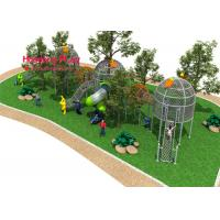 Buy cheap Bird'S Nest Type Rope Climbing Playground Equipment Include Six Strands Steel Wire Plastic from wholesalers
