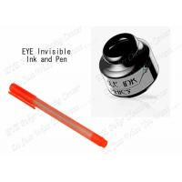 Buy cheap IR Infrared Invisible Ink For Playing Cards With Marker Pen , Magic Pen Invisible Ink from wholesalers