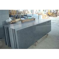 Buy cheap Natural Grey Granite Countertop Tiles 24x24 Surface Polished Design from wholesalers