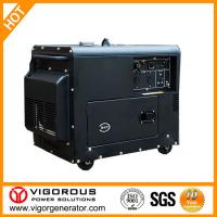 Buy cheap Home Back Up Super Quiet Dual Fuel (Gasoline and Gas) Generator 5.5kw With Auto Transfer Switch from wholesalers