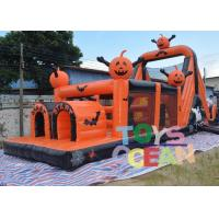 Buy cheap Crazy Large Halloween Inflatable Haunted House Obstacle Course Equipment Outdoor from wholesalers