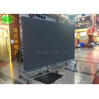 Buy cheap Outdoor Movable Rental stand LED Display P4.81mm For Events , Led Screen Hire from wholesalers