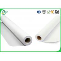 Buy cheap Smoothness Surface CAD Plotter Paper , 3 Inch Core 80gsm Plotter Roll Paper from wholesalers