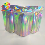 Buy cheap Ziplock Hologram Snack Food Packaging Bags Custom For Eyelash / Brush / Jewelry from wholesalers