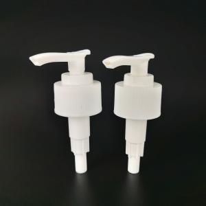Buy cheap White Plastic 28 410 Auto Lock Screw Lotion Pump product