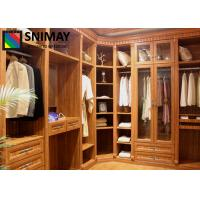 Buy cheap Aluminum Frame Wooden House Furniture Clothes Storage Closet For Bedroom from wholesalers