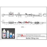 Buy cheap Agrochemica Bottle Filling Line / High Speed Liquid Pesticide Filling MachineLine from wholesalers
