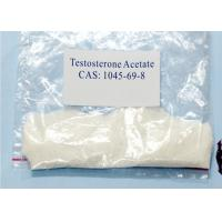 Buy cheap Testosterone Acetate For Muscle Building Male Sex Hormone Testosterone Ace CAS 1045-69-8 from wholesalers
