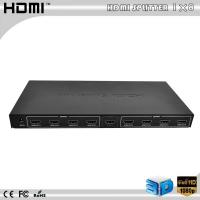 Buy cheap 8 Port Powered HDMI Splitter, 1-Input to 8-Outputs from wholesalers