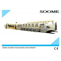 Buy cheap Rotary Flexo Printer Slotter Die Cutter , Fully Automatic Printer Slotter Machine from wholesalers