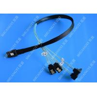 Buy cheap SFF 8087 To SATA Serial Attached SCSI Cable 500mm 30 AWG 28 Pin For Server from wholesalers