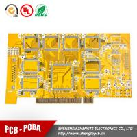 Buy cheap Multilayer Copper base Yellow Soldermask PCB from wholesalers