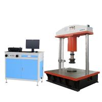 Buy cheap 1000KN computer display manhole cover compression testing machine from wholesalers