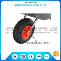 Buy cheap Light Duty Small Size Pneumatic Swivel Wheels 25% Rubber Contain For Wheelbarrow from wholesalers