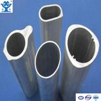 Buy cheap Customized aluminum extrusion oval tube in different size from wholesalers
