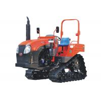 Buy cheap New 70HP Farm Crawler Track Tractor with Steering Wheel for Rice Paddy and Dry Field from wholesalers