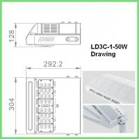 Buy cheap High Lumen COB SMD 50w Energy Efficient Street Lighting Die Cast Aluminum product