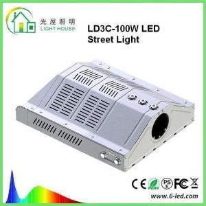 Buy cheap Outdoor Led Street Light 100w Parking Lot Lighting 85-265v Warm White 3000-3500k product