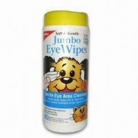 Buy cheap Pet Cleaning Wipes in Canister, Makes Easy to Clean Pet without Bathing product