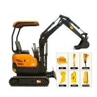 Buy cheap EPA Yamar Engine 1.6Ton Micro Digger XN16 Mini Excavator For Sale from wholesalers