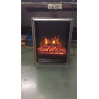 Buy cheap electric stove 5 with trim insert electric fireplace heater log LED flame effect GM2000-15 remote control from wholesalers