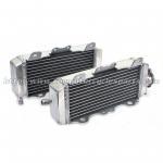 Buy cheap Heat Resistance Custom Motorcycle Radiator / Dirt Bike Aluminum Radiator Engine Cooling System from wholesalers
